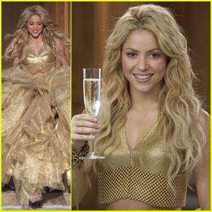 Shakira Sparkles Her Charity