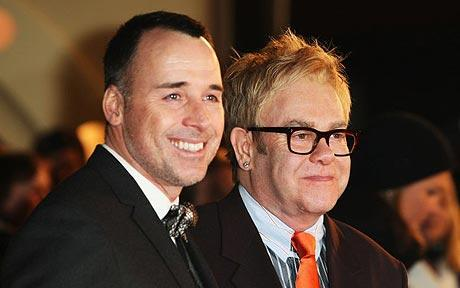 Elton John and Spouce, Welcome a Baby!