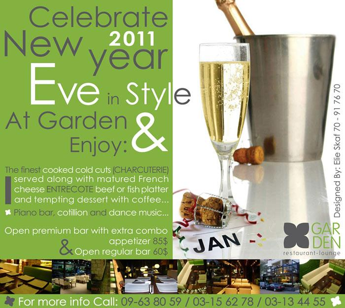 New Year's Eve At Garden