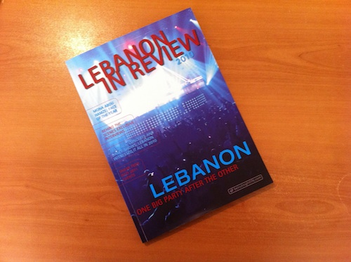 Lebanon in Review 2010 – Out Now