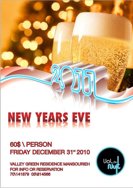New Year's Eve At Vol De Nuit