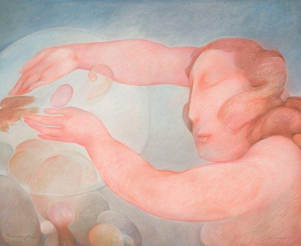 Mounzer Kamnakache-Venus of the Clouds