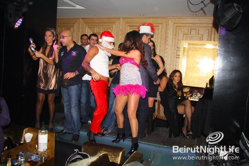 Santa Strips on New Years Eve