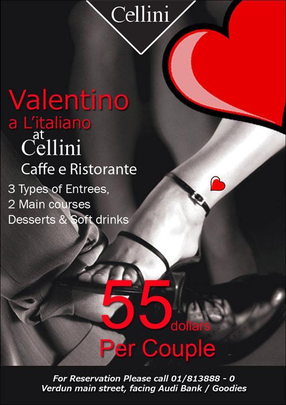 Valentino A L'Italiano At Cellini