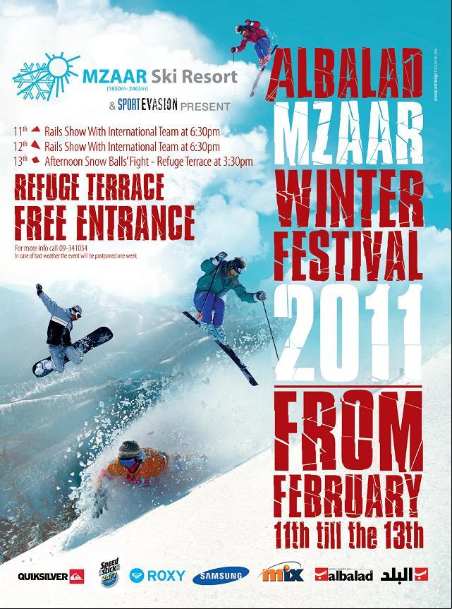 Albalad Mzaar Winter Festival 2011