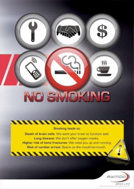 No-Smoking Policy Starts in Private Companies