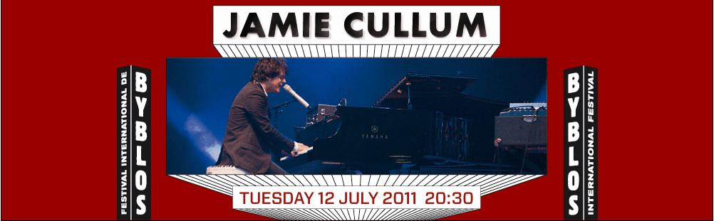 Jamie Cullum At Byblos International Festival