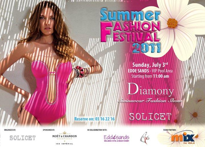 Summer Fashion Festival 2011 At Edde Sands