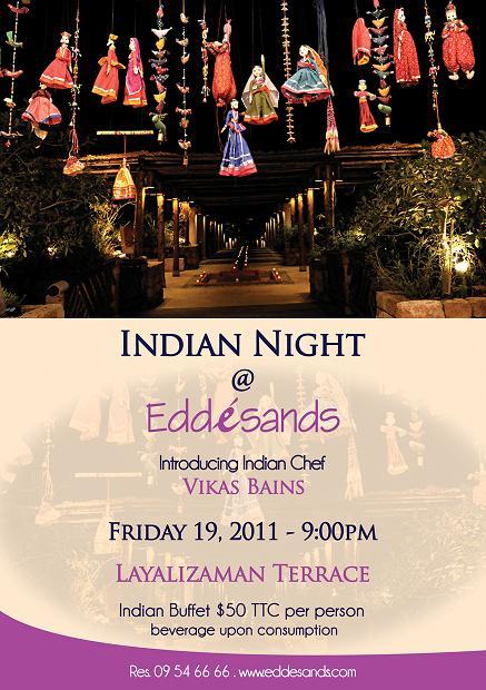 Indian Night At Edde Sands