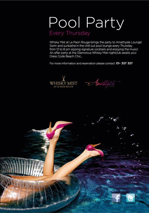 Pool Party At Amethyste Bnl