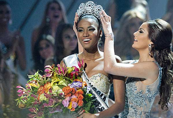 Miss Universe 2011 Winner is Miss Angola, Leila Lopes