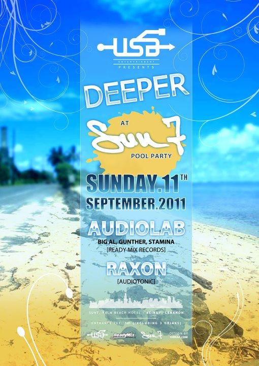 USB Entertainment Presents Deeper At Sun 7