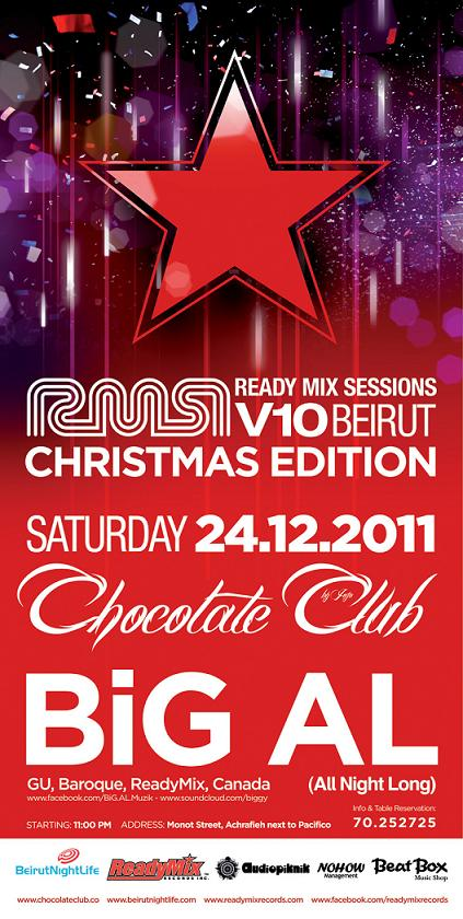 The ReadyMixSessions Christmas Edition With Big Al At Chocolate Club