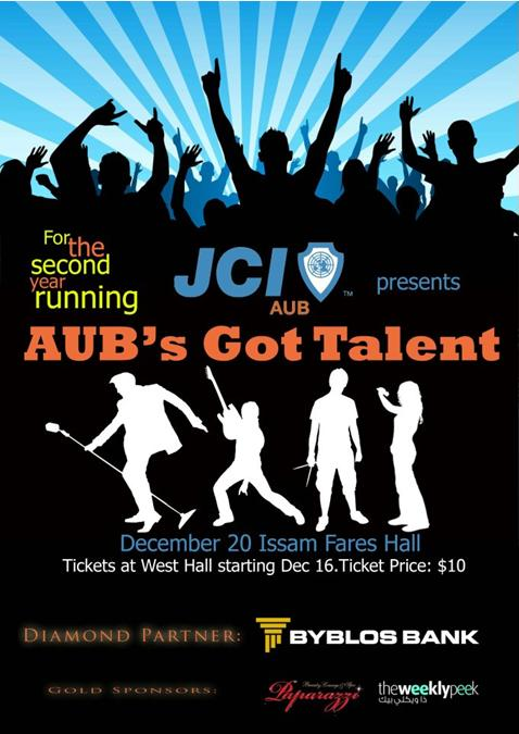 JCI AUB Presents AUB's Got Talent