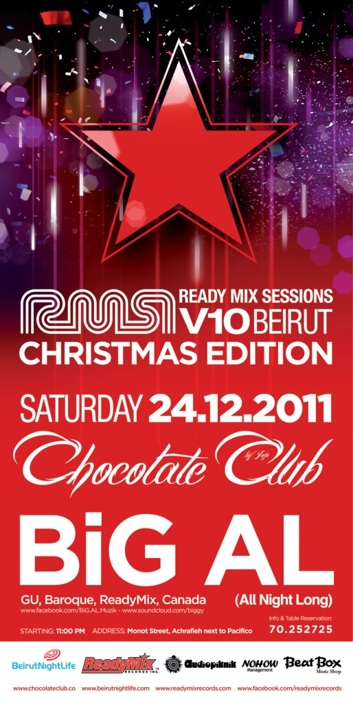 Join BNL for The Ready Mix Session Christmas Edition 5 Year Anniversary at Chocolate Club