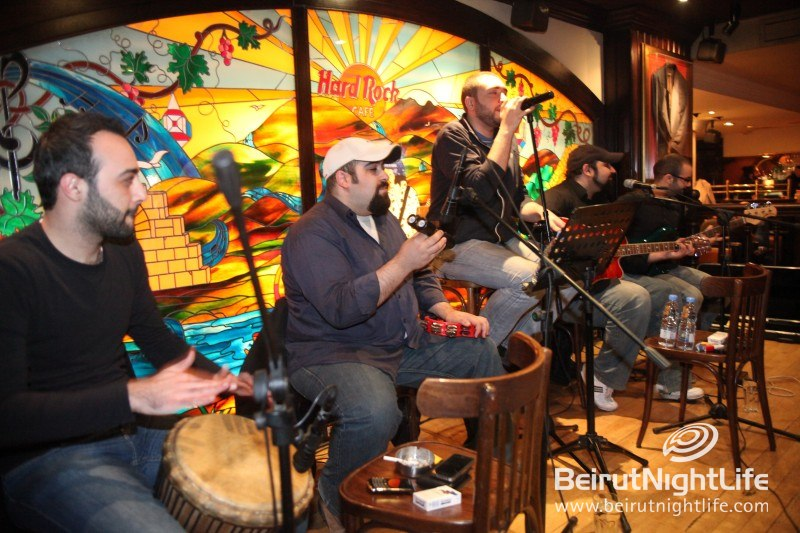 JLP Band Live at the Hard Rock Café Beirut