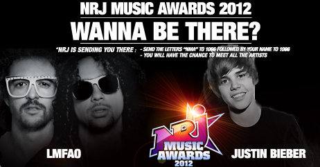 Win a Full Trip to See Justin Bieber and More at the NRJ Music Awards 2012!
