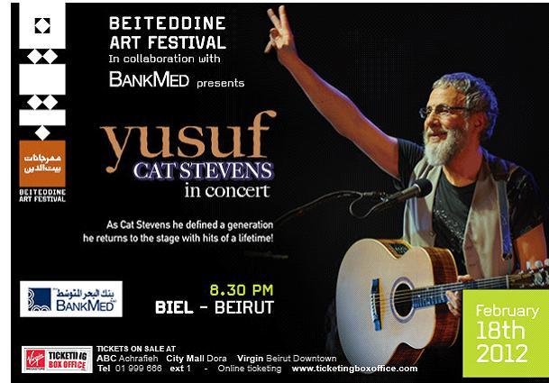 Yusuf Cat Stevens Live In Concert At Biel