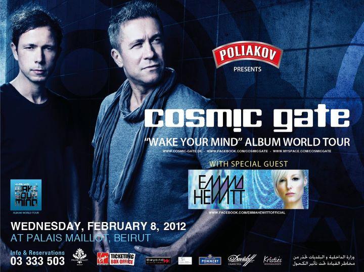 Cosmic Gate Live At Palais Maillot