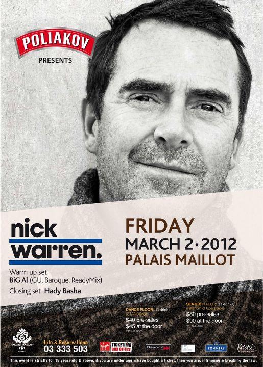 Nick Warren Live At Palais Maillot