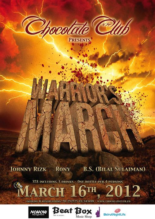 Warrior's March At Chocolate Club