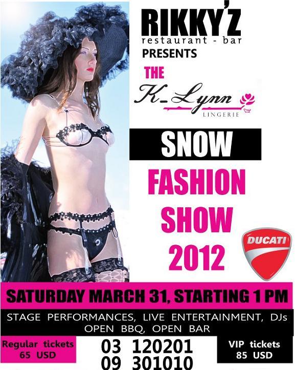 The K-Lynn Snow Fashion Show