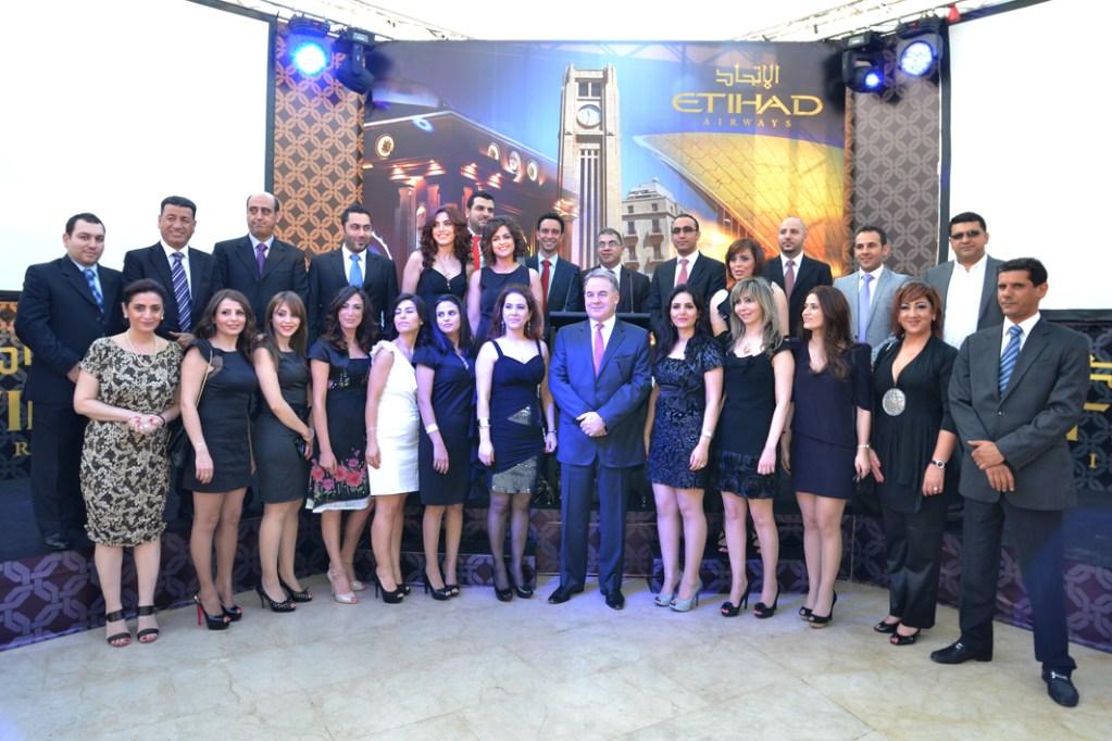 ETIHAD AIRWAYS celebrates success of flights to Beirut