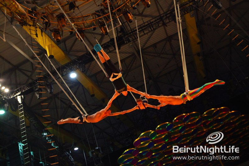Cirque Du Soleil in Lebanon- Behind the Scenes