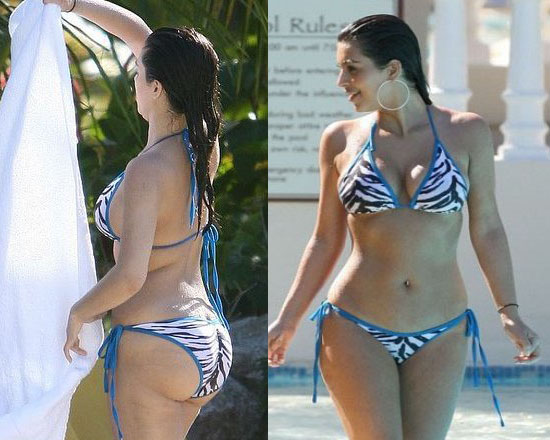 Is Kim Kardashian Fat? See Bikini Photos!