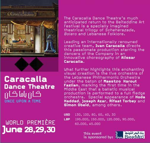 Caracalla Dance Theatre Live At Beiteddine Festival