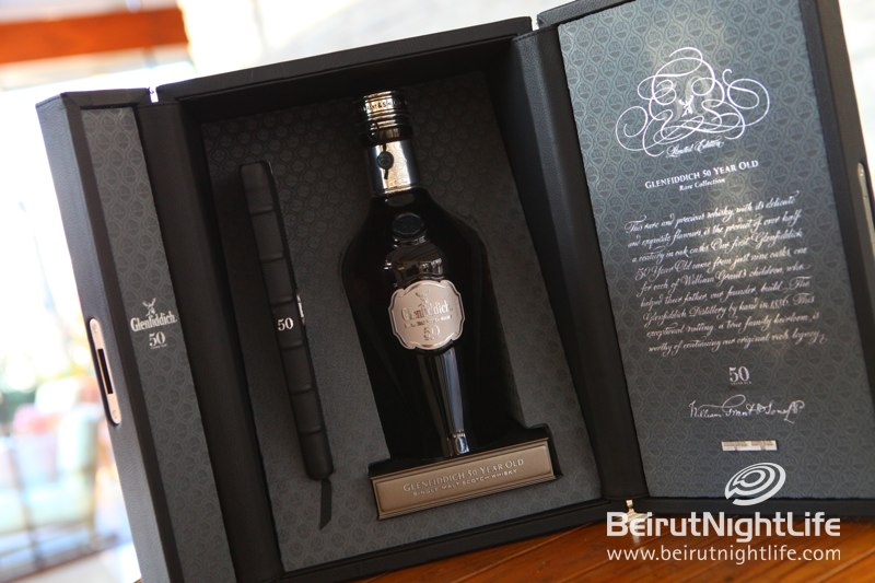 Bocti Brings a $30,000 Bottle of Glenfiddich to Le Gray