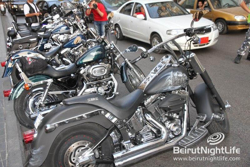 Harley-Davidson at Beirut Souks