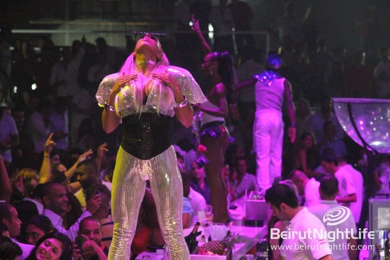 DJ Bruce Wayne Hits White Beirut