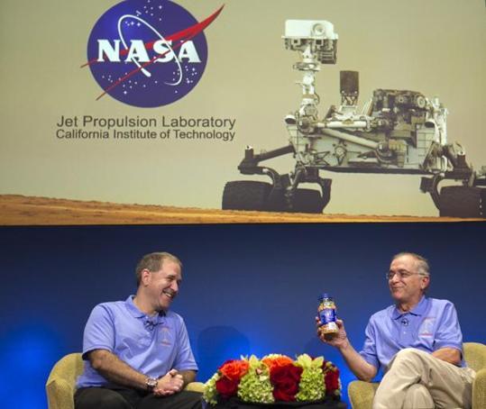 Lebanese leads NASA rover Curiosity landing on Mars