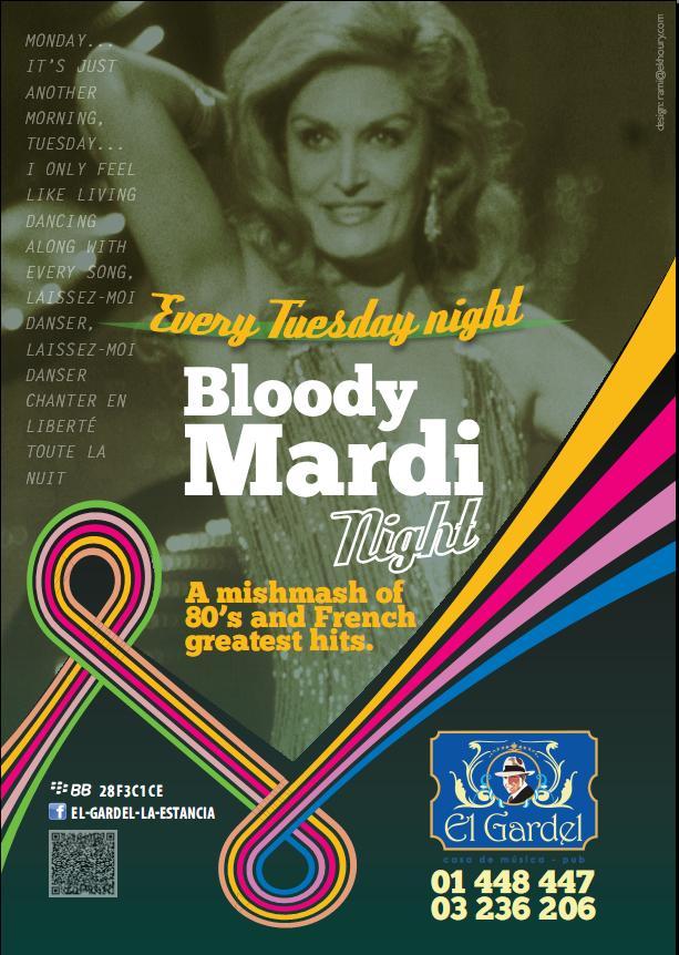 Bloody Mardi Night At El Gardel