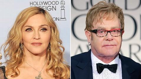 Elton John Cusses Out Madonna!