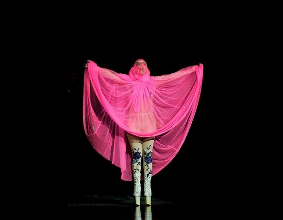 Lady Gaga's Craziest Looks at NY Fashion Week
