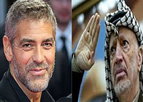 George Clooney to play Yasser Arafat in new 3D biopic