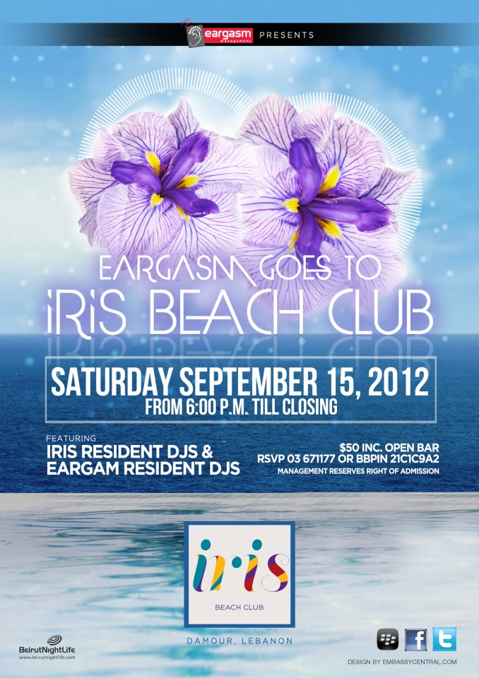 Eargasm Goes To Iris Beach Club