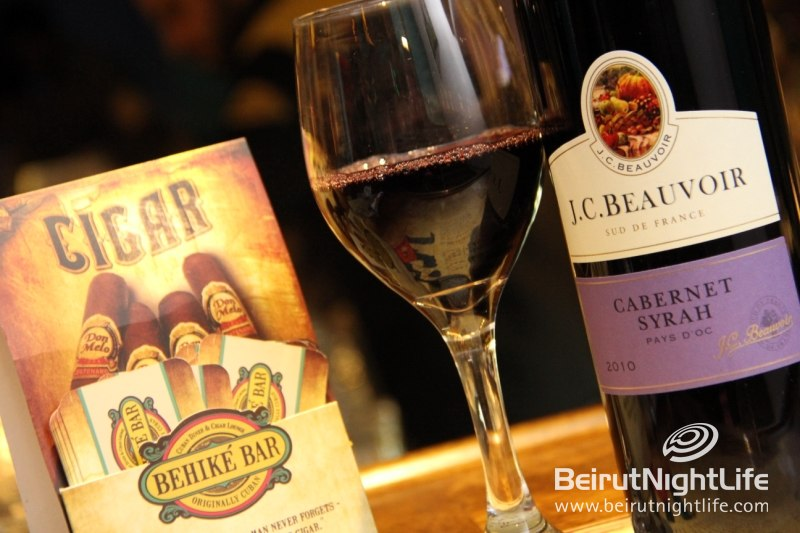 Tire Bouchon Wine Tasting Night at Behike Bar