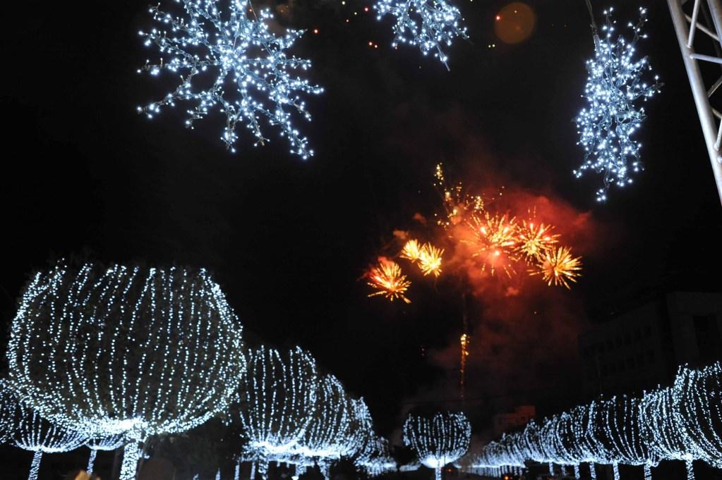Christmas Lights Lights Lights Across Lebanon!