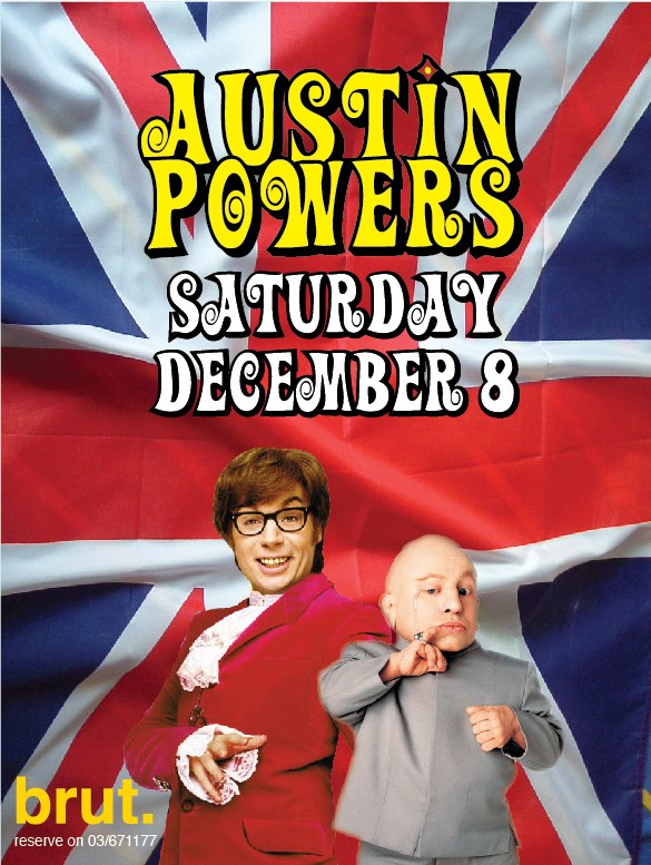 Austin Powers At Brut