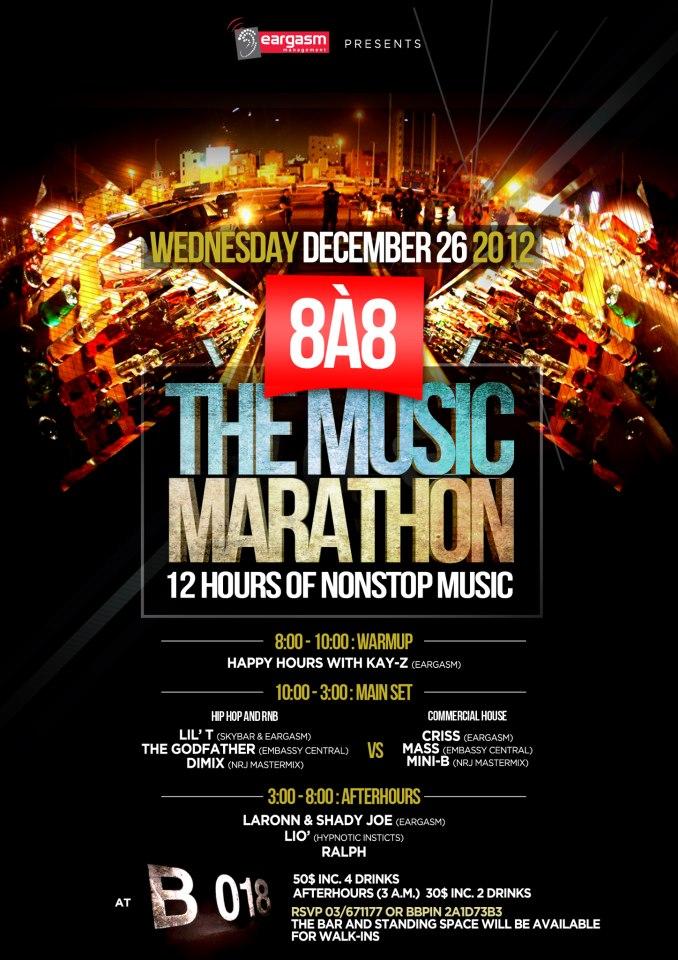 De 8 a 8 The Music Marathon