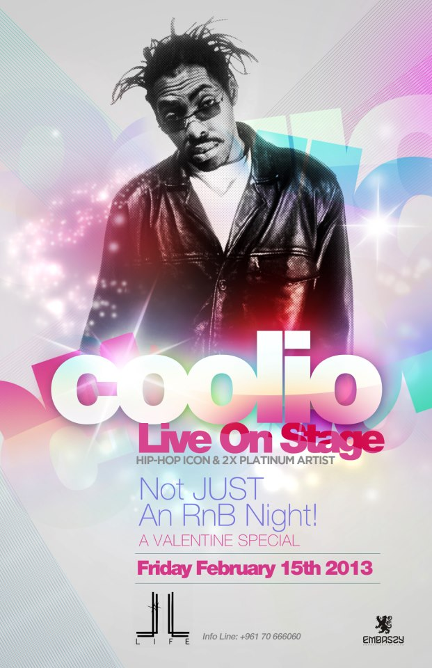 Coolio Live At LIFE