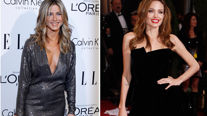 It is WAR: Angelina Jolie VS Jennifer
