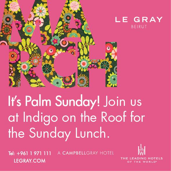 Palm Sunday at Indigo on the Roof