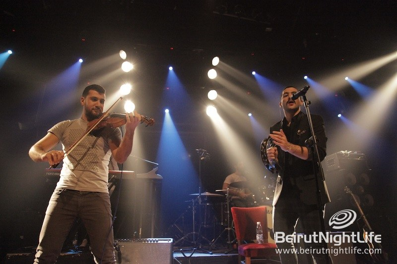 Mashrou' Leila Private Concert for Youth at Music Hall