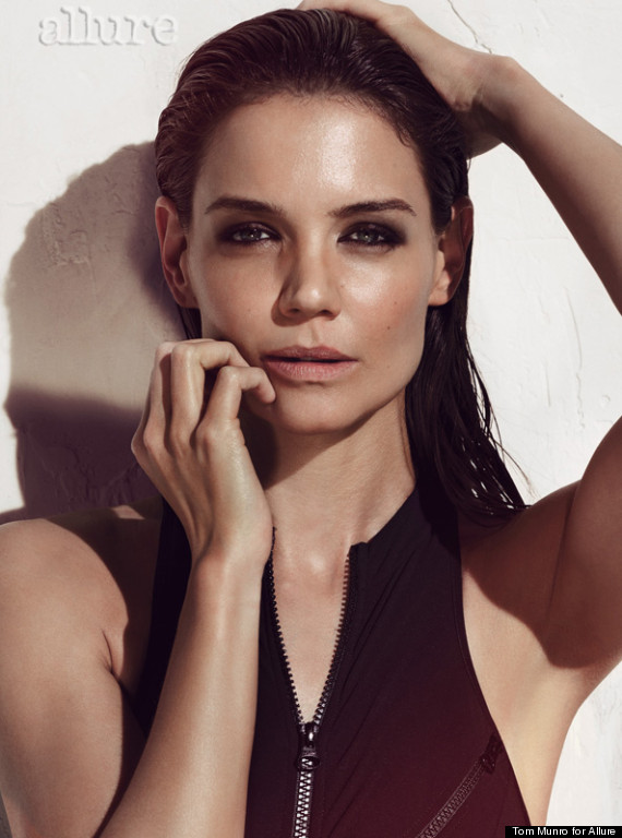 Katie Holmes Hot On Allure Cover