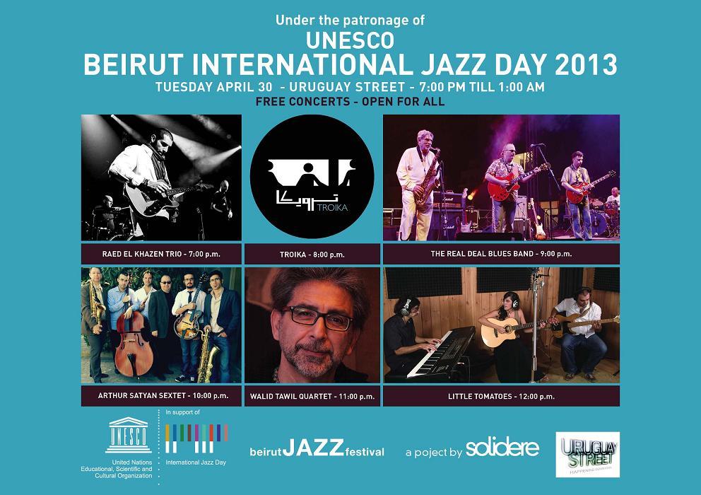 Beirut International Jazz Day 2013