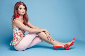 VERY hot! Stunning Millie Mackintosh is the latest celebrity to model for the online store
